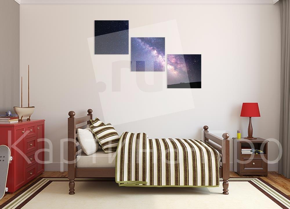 Модульная картина Млечный путь от Kartina-Pro