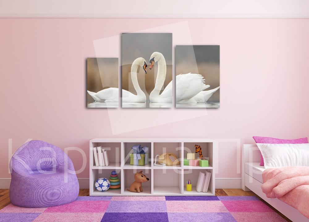 Модульная картина Прекрасная пара от Kartina-Pro