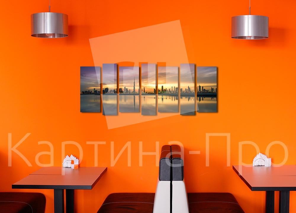 Модульная картина Панорама Дубаи от Kartina-Pro