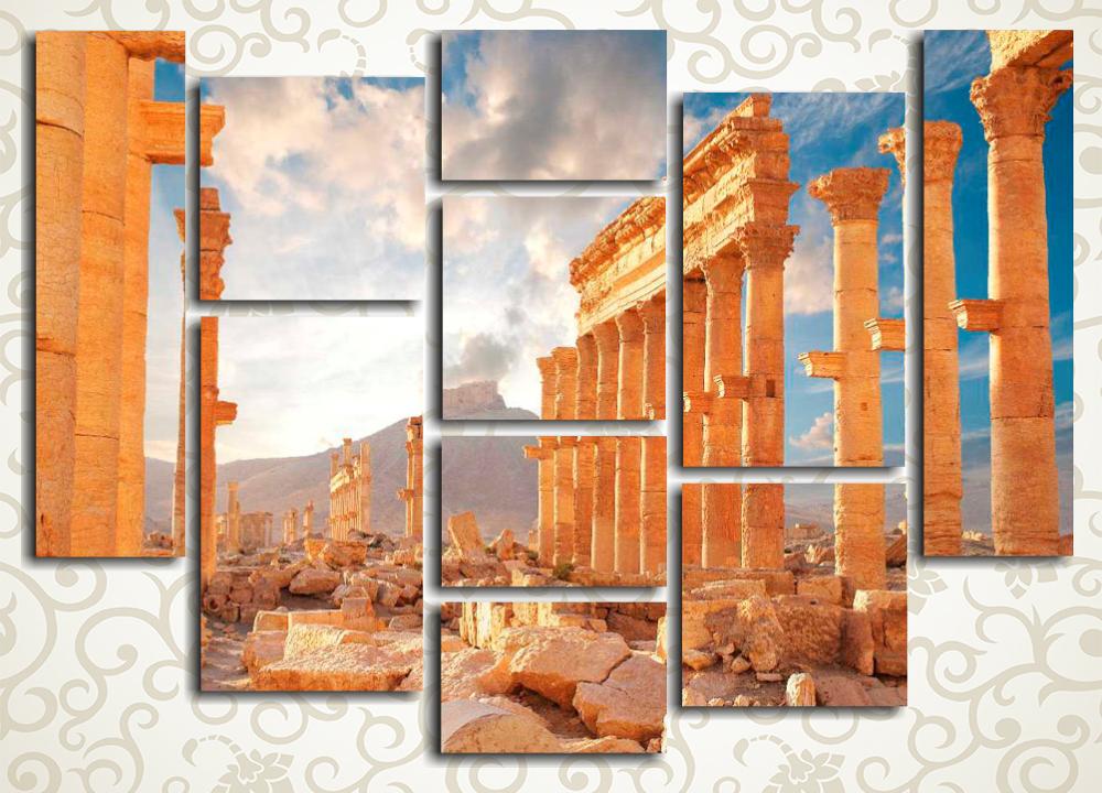 Модульная картина Город Пальмира (Сирия)