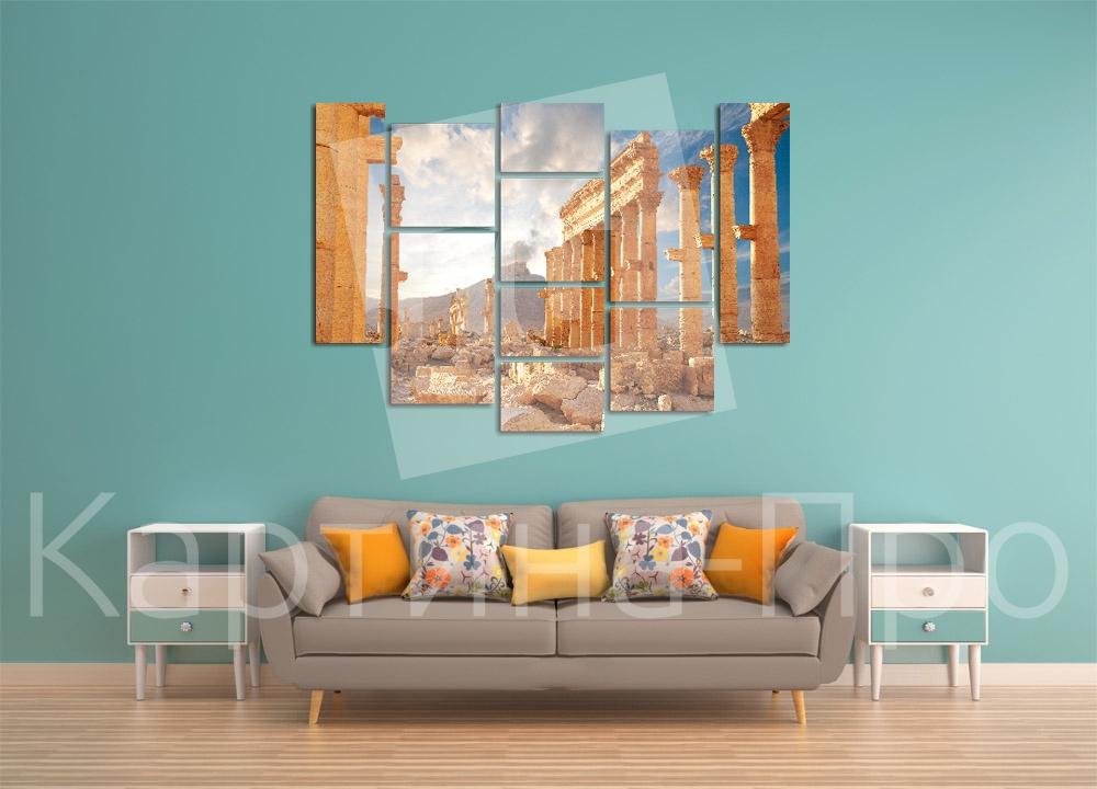 Модульная картина Город Пальмира (Сирия) от Kartina-Pro