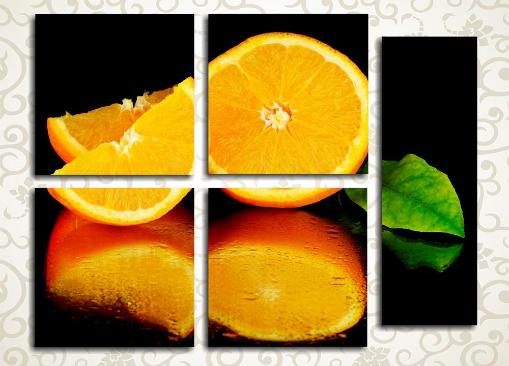 Модульная картина Сочные апельсины