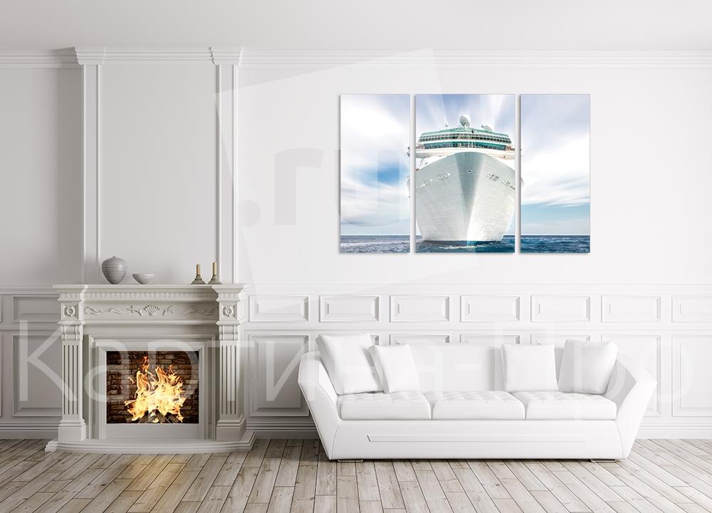 Модульная картина Круизный лайнер от Kartina-Pro