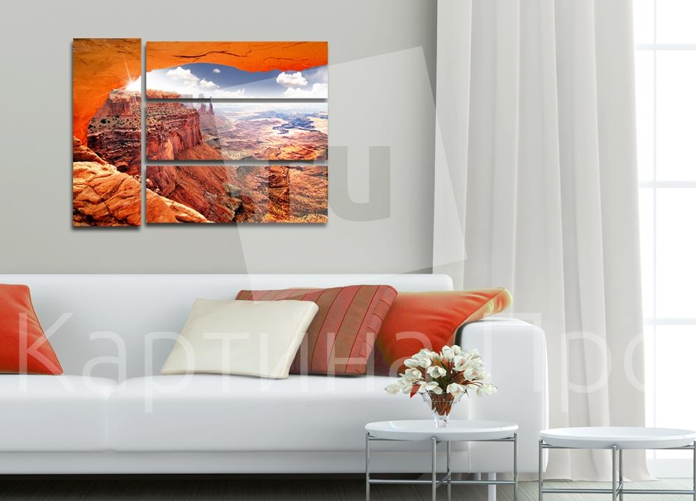 Модульная картина Большой Гранд-Каньон в США от Kartina-Pro