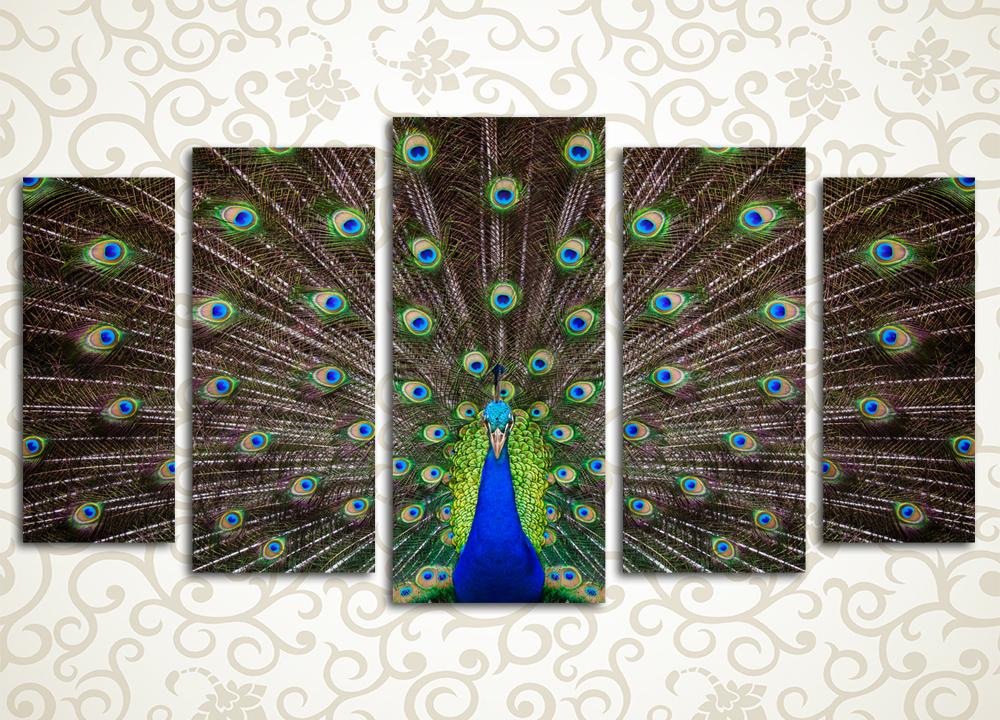Модульная картина Царская птица