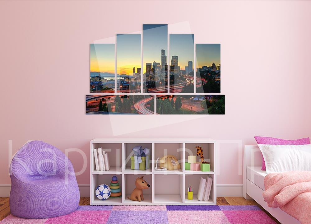 Модульная картина Сиэтл (США) от Kartina-Pro