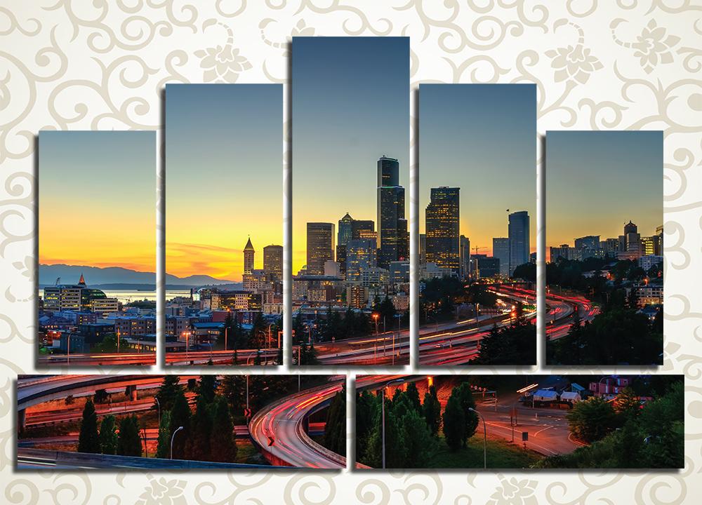 Модульная картина Сиэтл (США)