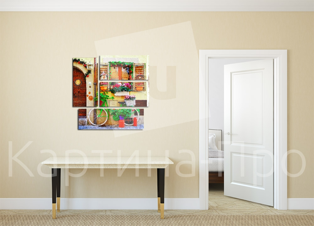 Модульная картина В стиле прованс от Kartina-Pro