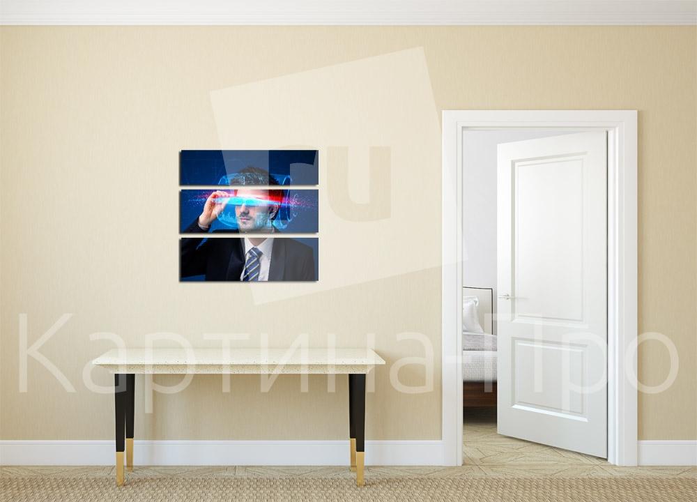 Модульная картина В стиле хай тек от Kartina-Pro