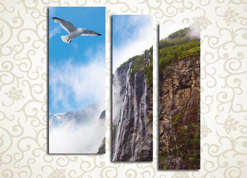 Модульная картина Полет чайки от Kartina-Pro