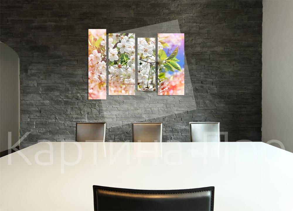 Модульная картина Весна от Kartina-Pro