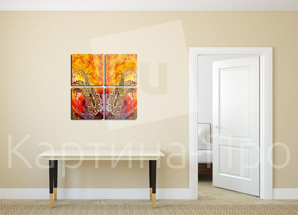 Модульная картина Винтаж от Kartina-Pro