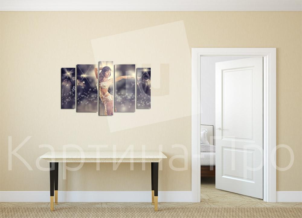 Модульная картина Дива в лучах света от Kartina-Pro