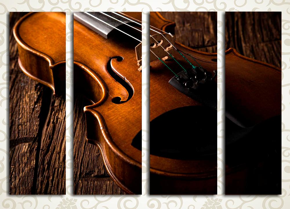 Модульная картина История одной скрипки от Kartina-Pro