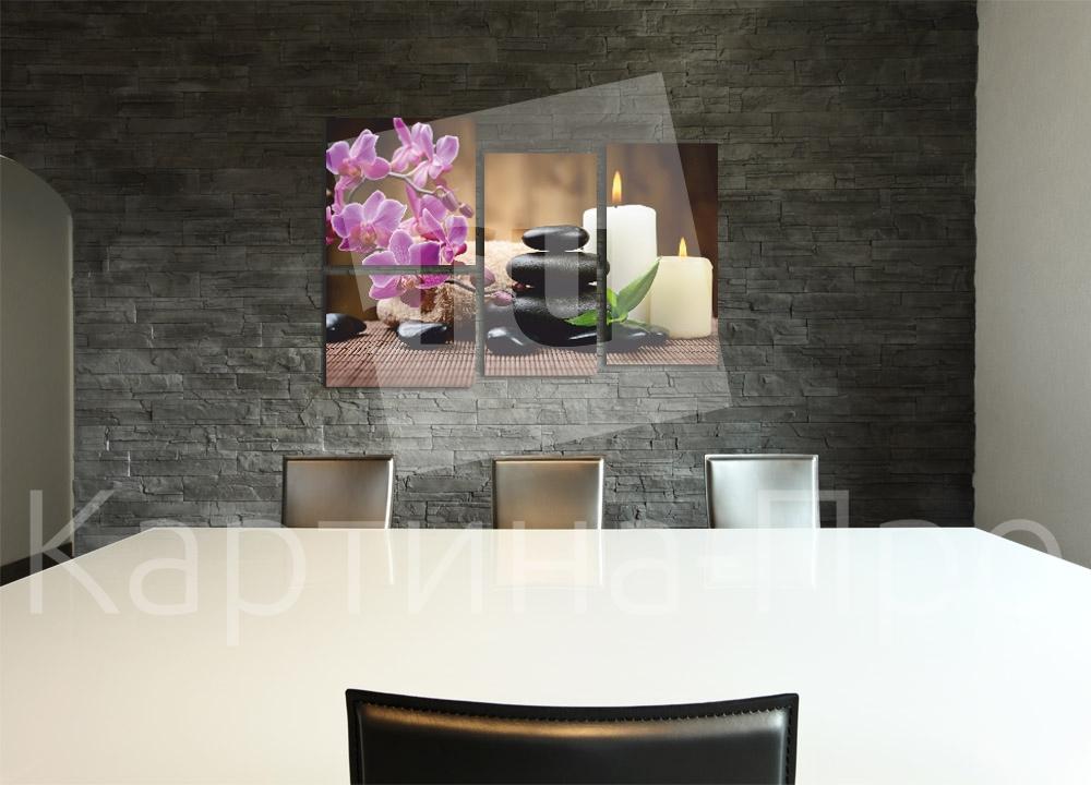 Модульная картина Тайское СПА от Kartina-Pro