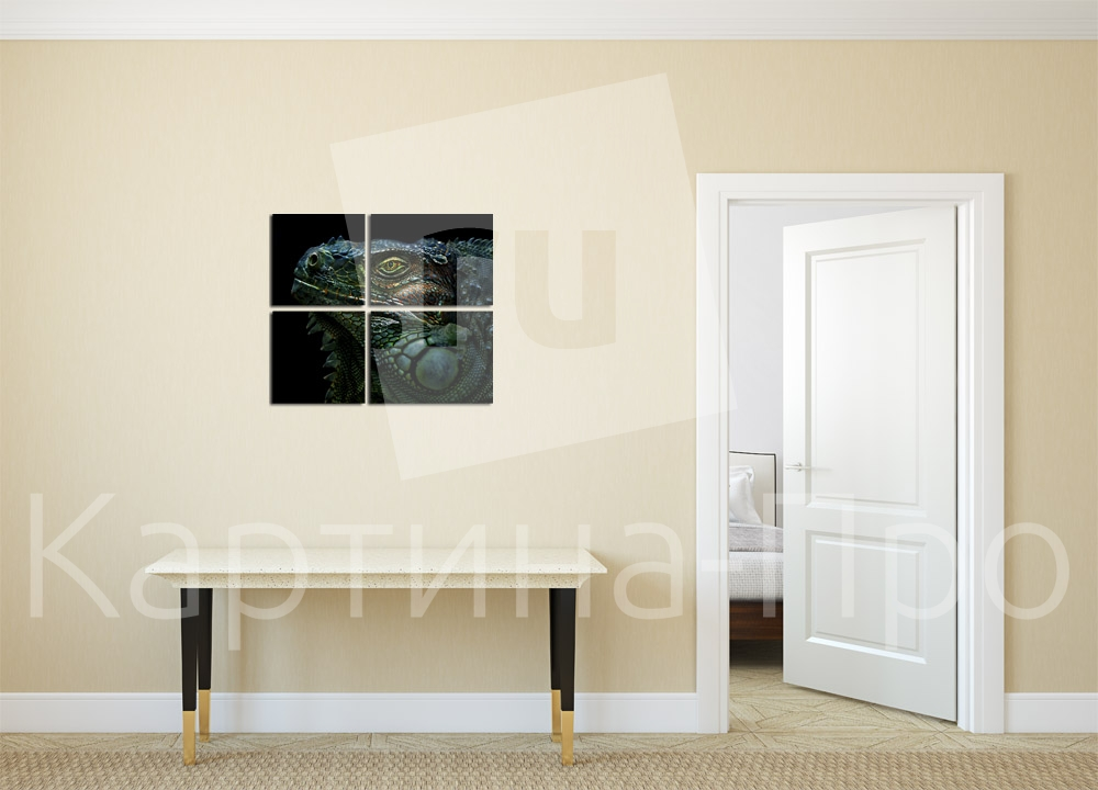 Модульная картина Дракон от Kartina-Pro