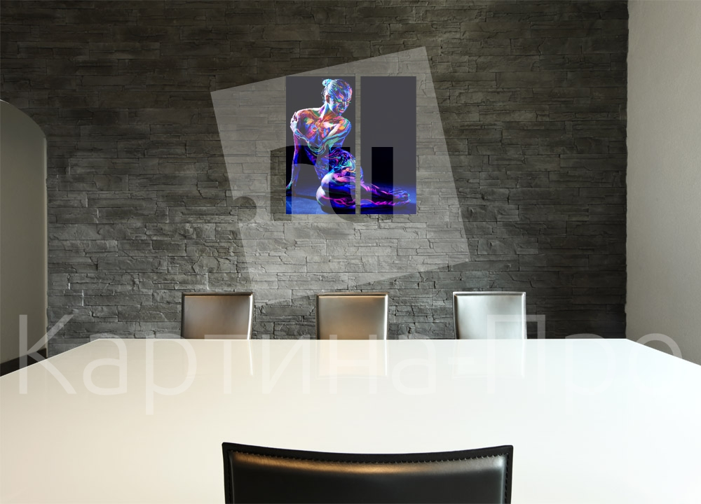 Модульная картина Игра актрисы от Kartina-Pro
