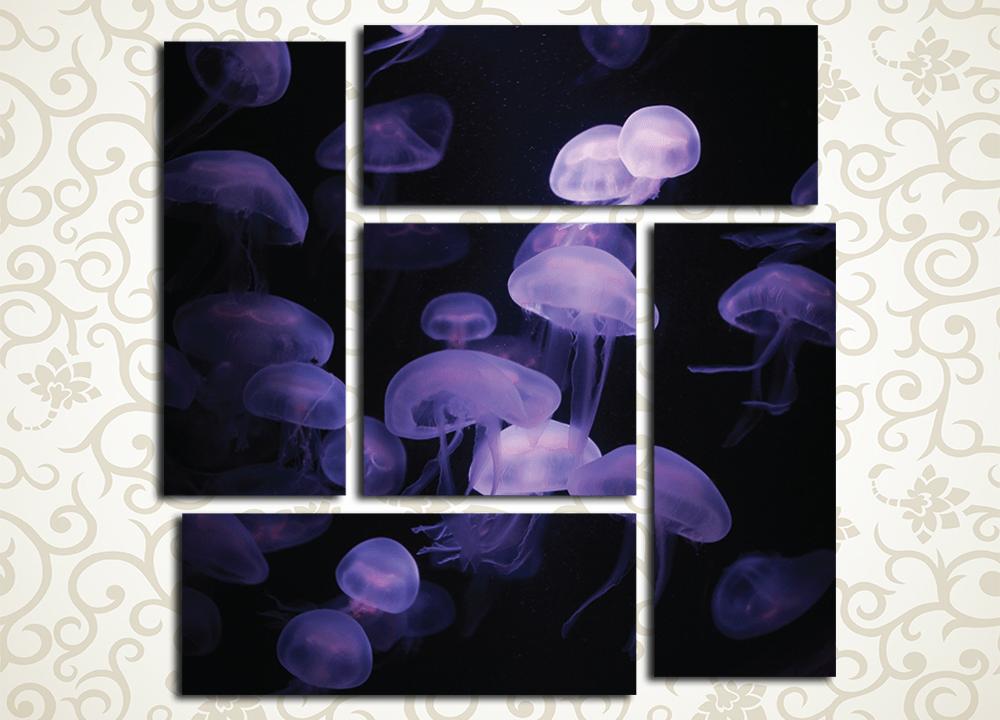 Модульная картина Медузы<br>
