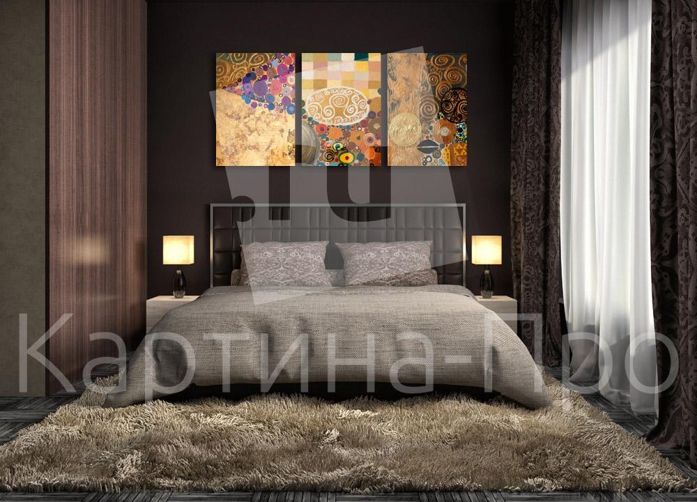 Модульная картина Яркие текстуры от Kartina-Pro