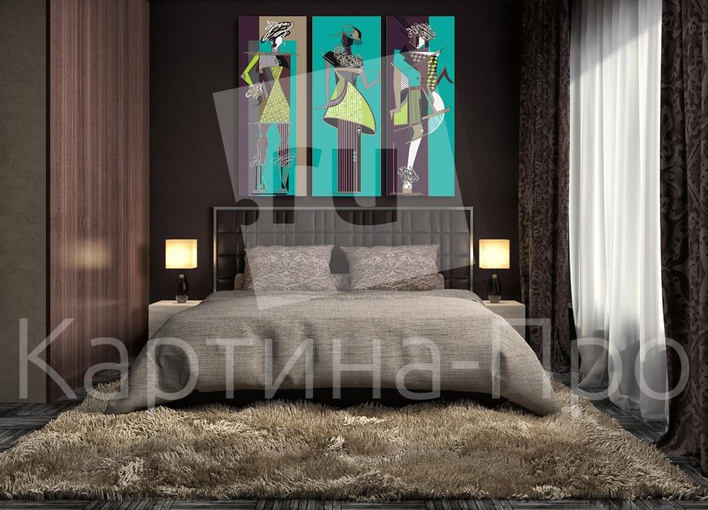Модульная картина Наброски стиля от Kartina-Pro