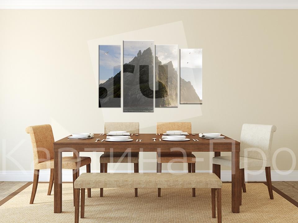 Модульная картина Чудо света от Kartina-Pro