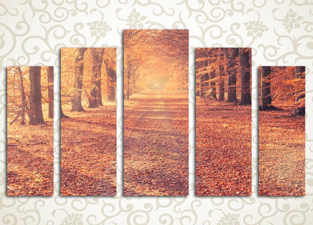 Модульная картина Прекрасная осень