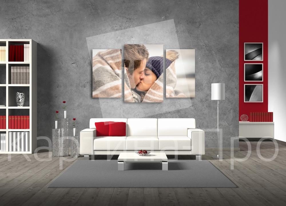 Модульная картина Нежный поцелуй от Kartina-Pro