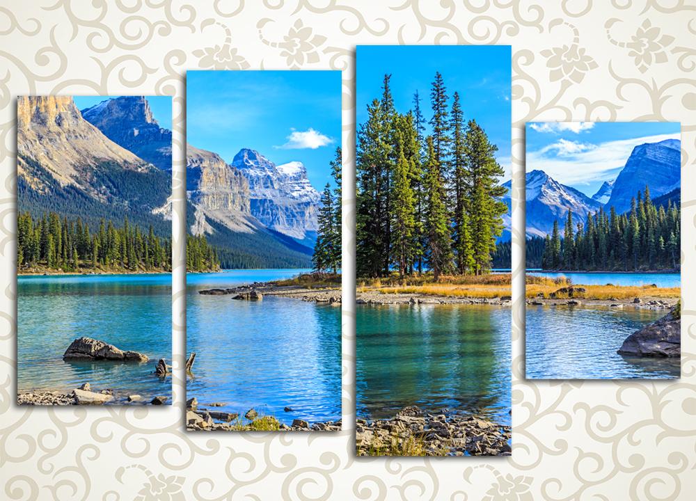 Модульная картина Красоты Канады