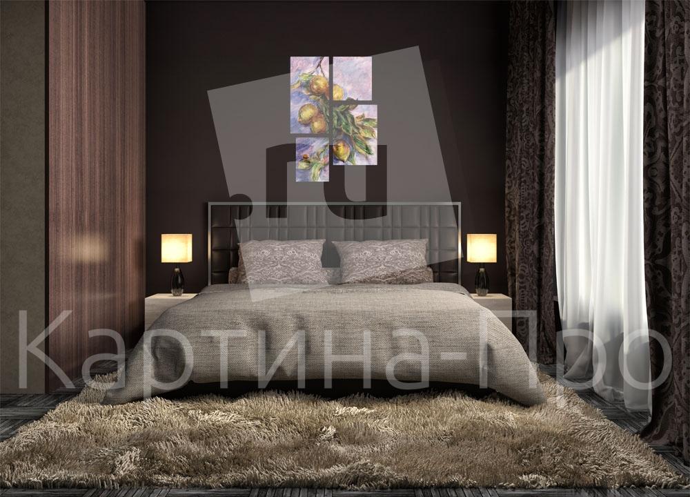 Модульная картина В стиле Моне от Kartina-Pro