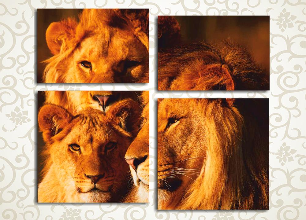 Модульная картина Царское семейство
