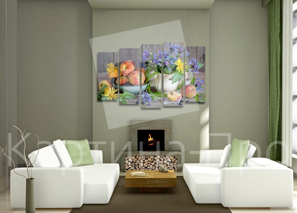 Модульная картина Летний натюрморт от Kartina-Pro