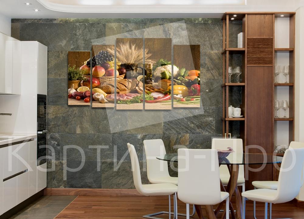 Модульная картина Хлеб-соль от Kartina-Pro