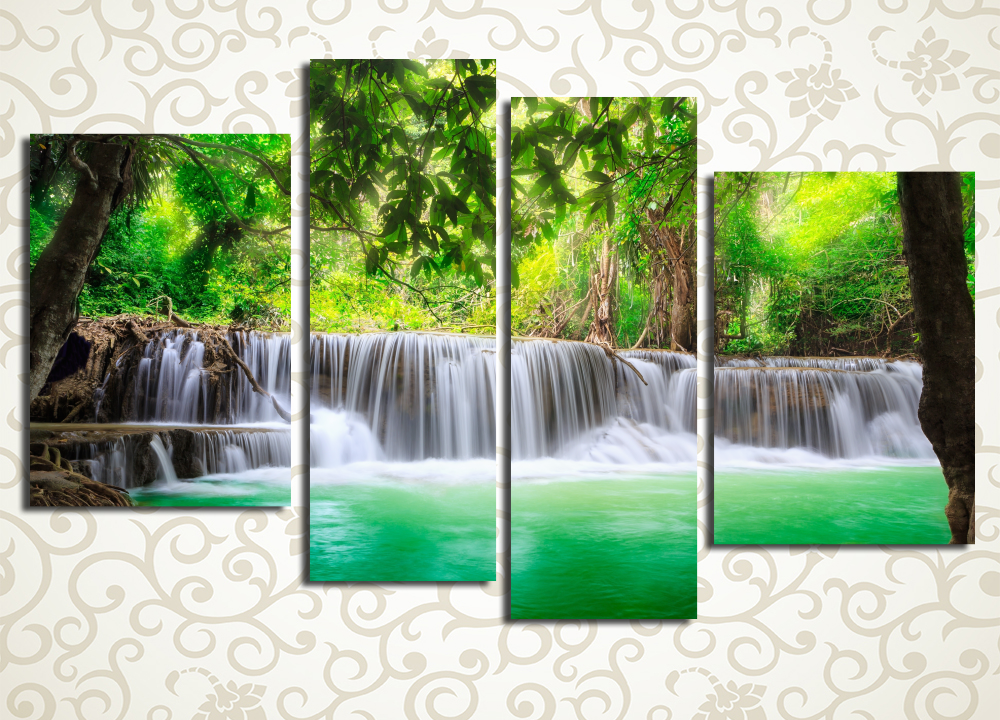 Модульная картина Сказочные джунгли