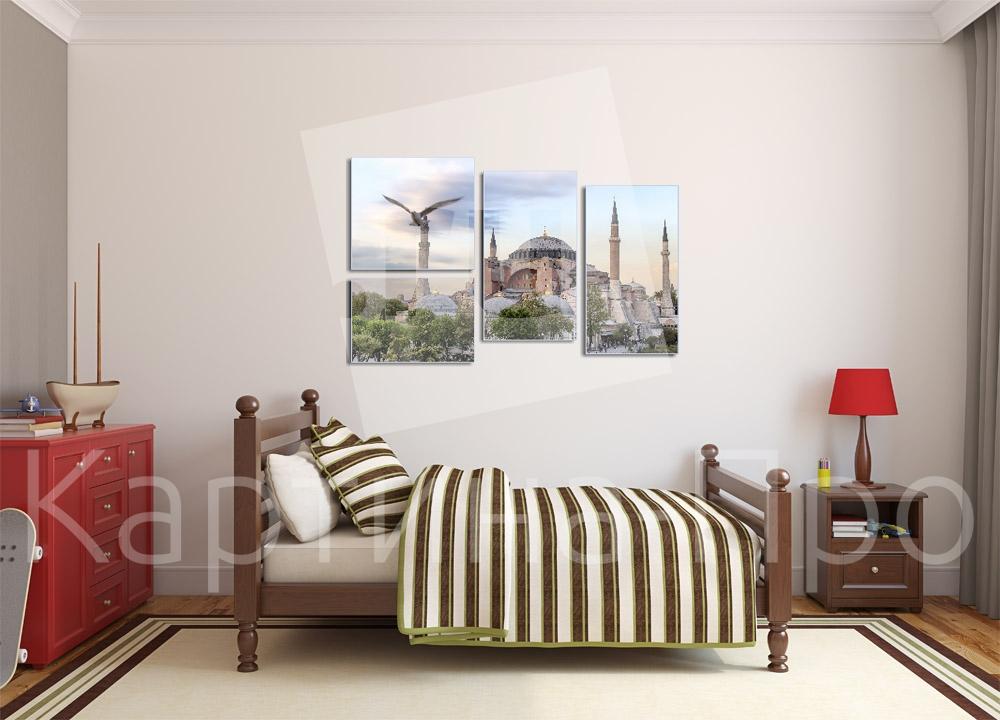 Модульная картина Собор Святой Софии. Стамбул (Турция) от Kartina-Pro