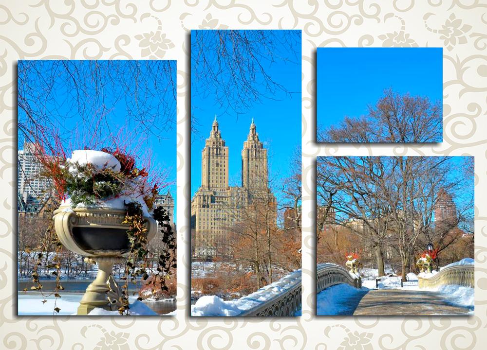 Модульная картина Централ Парк в Нью-Йорке