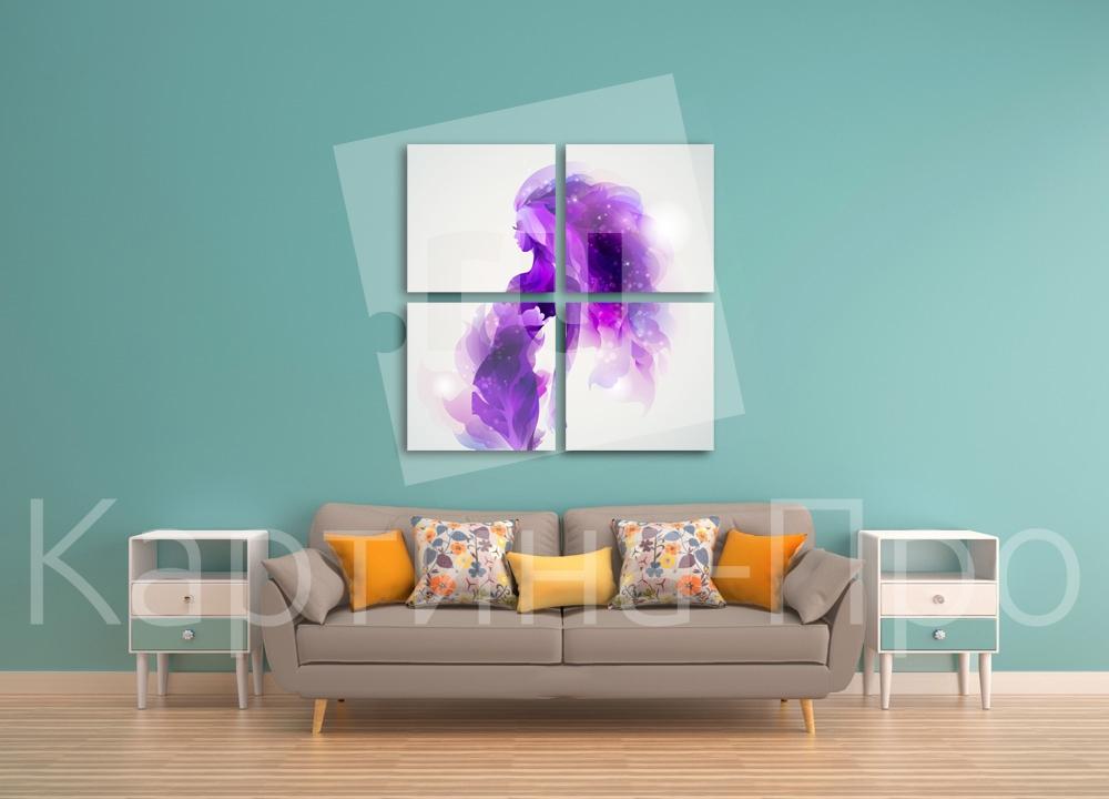 Модульная картина Изящный силуэт от Kartina-Pro