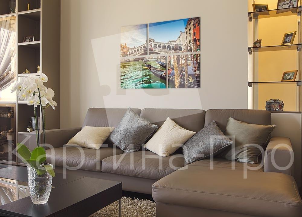 Модульная картина Прогулка по Венеции (Италия) от Kartina-Pro
