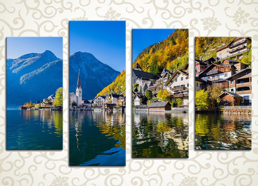 Модульная картина Красоты природа Зальцбурга (Австрия)