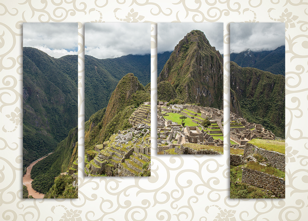 Модульная картина Мачу Пикчу (Перу) от Kartina-Pro