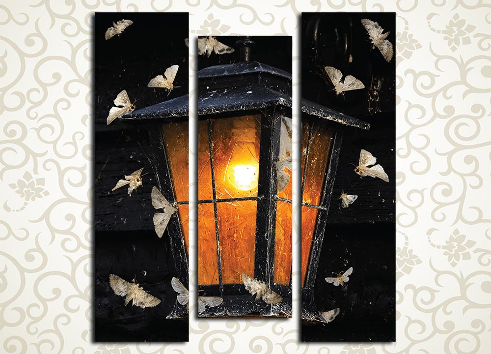 Модульная картина Винтажный фонарь