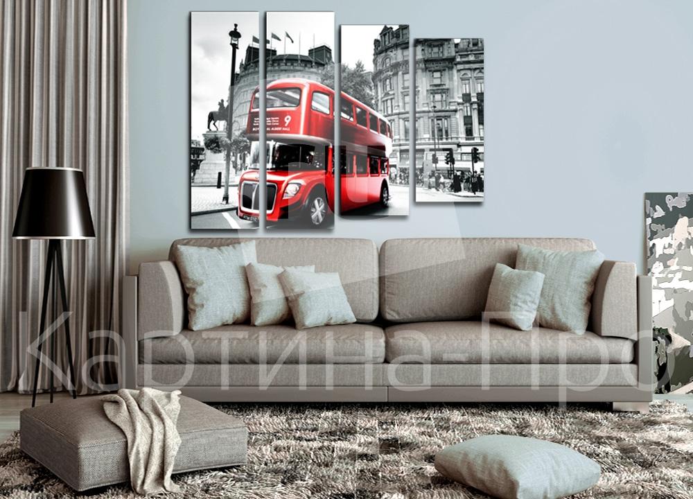 Модульная картина Символ Лондона от Kartina-Pro