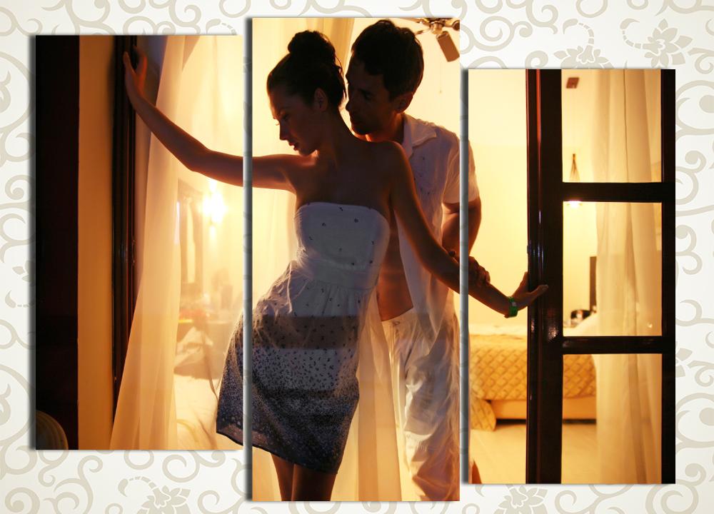 Модульная картина Пара влюбленных