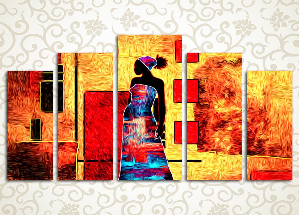 Модульная картина Дух Африки