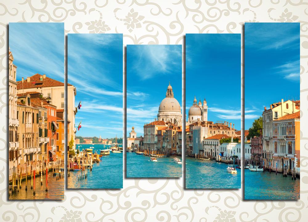 Модульная картина Большой венецианский канал, Венеция (Италия)