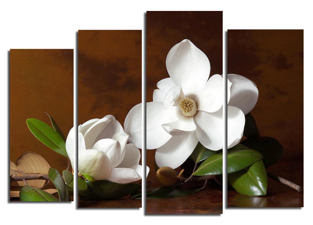 Модульная картина Цветок магнолии