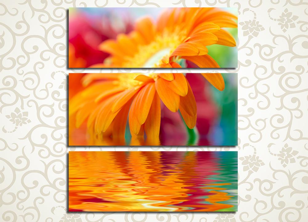 Модульная картина Оранжевое настроение
