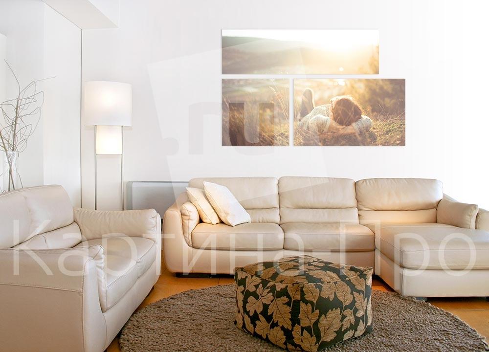 Модульная картина Отдых от Kartina-Pro