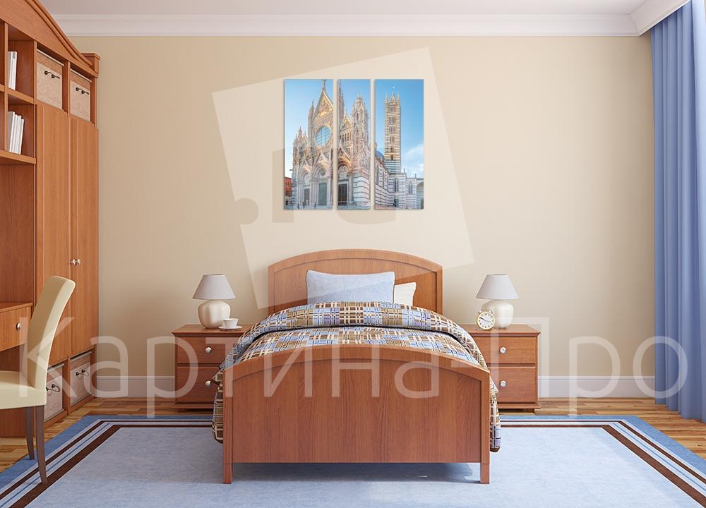 Модульная картина Собор в Сиенне (Италия) от Kartina-Pro