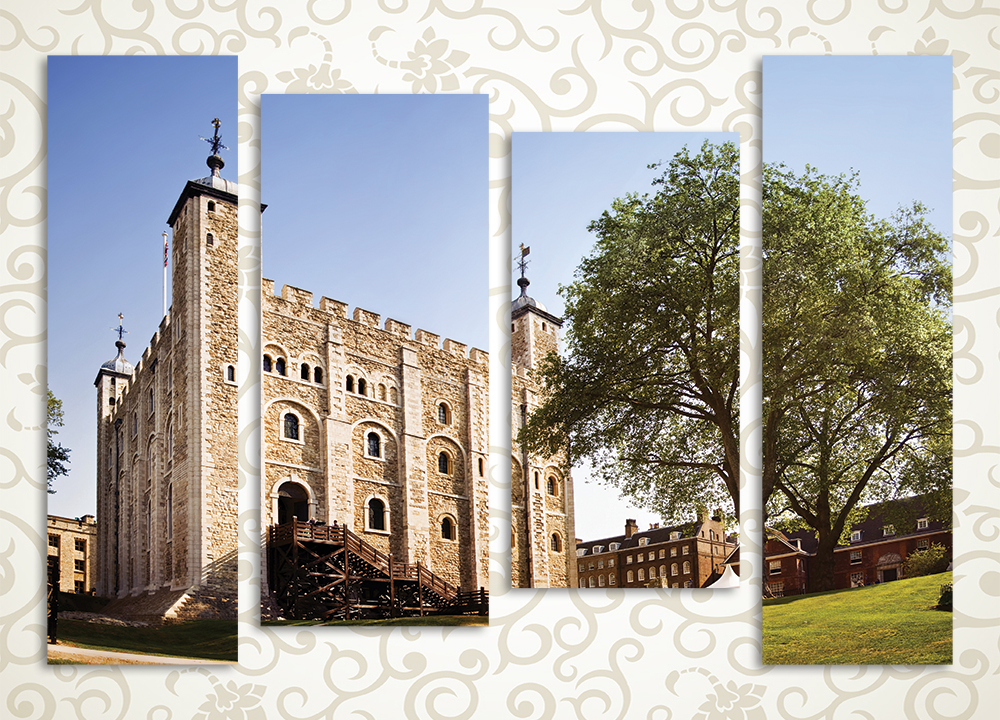 Модульная картина Лондонский Тауэр (Англия) от Kartina-Pro