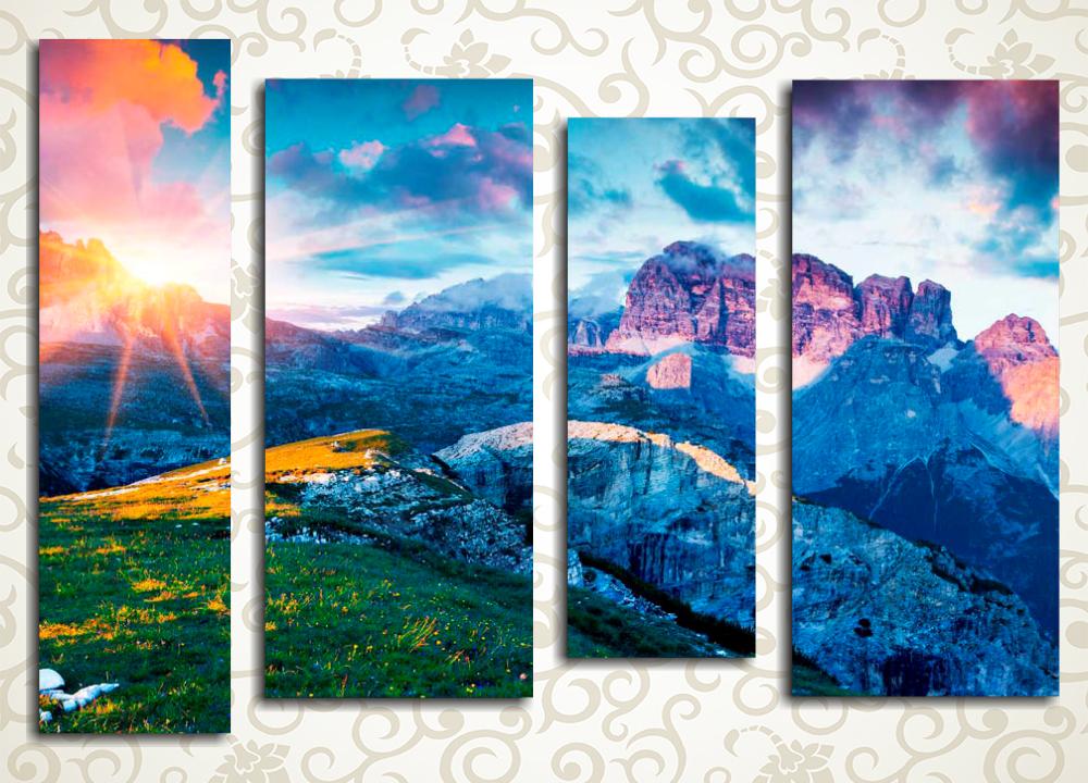 Модульная картина Красоты национального парка